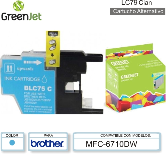 Cart ALT BROTHER LC79 Cia GREENJET