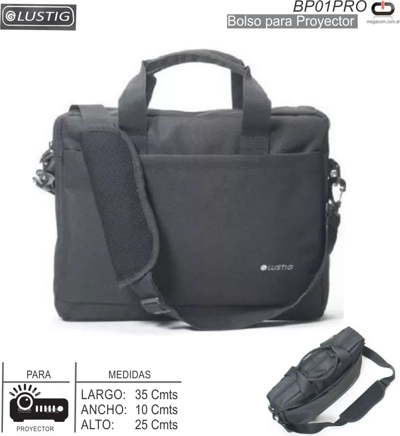 Bolso Proyector LUSTING BP01PRO 35x25x10