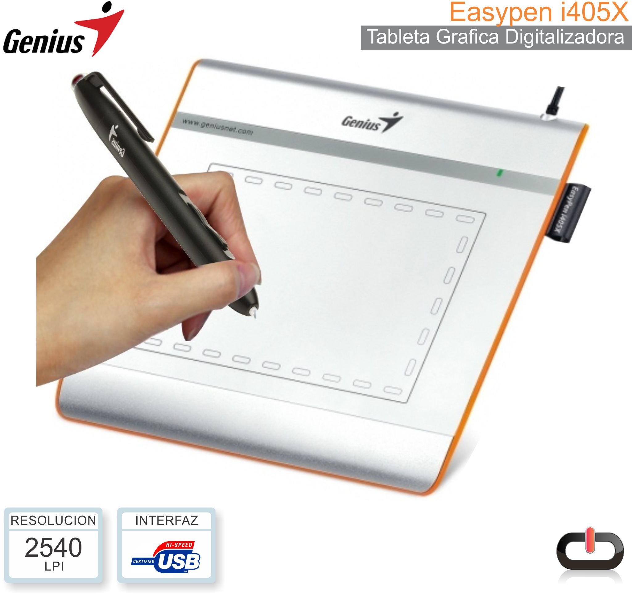 Tableta Digitalizadora GENIUS Easypen i405X