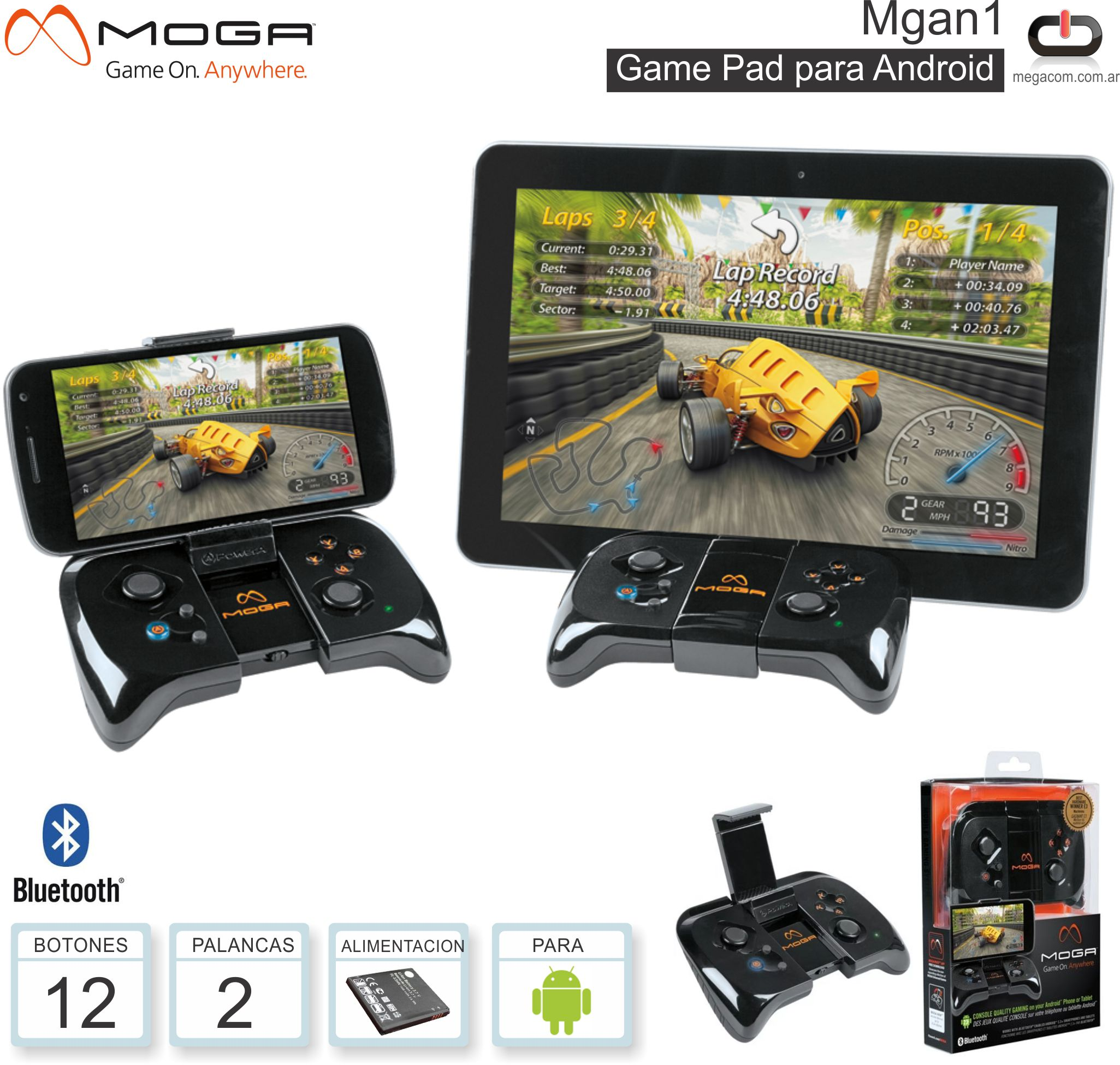 Game Pad Android MOGA MGAN1