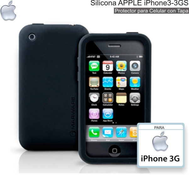 Silicona APPLE iPhone 3-3GS