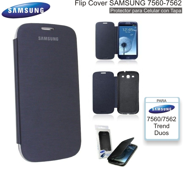 Flip Cover SAMSUNG 7560/7562 (Trend Duos)