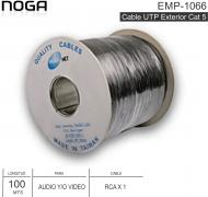 Cable Audio-Video NOGA EMP-1066 RCA 100M