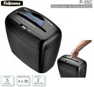 Destructor de Documentos FELLOWES P-35C