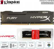 Mem DDR4 08Gb 2133 1.20V KINGSTON HXF HX421C14FB/8