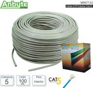 Cable UTP Cat5 Interior 100M ANYBYTE M957132