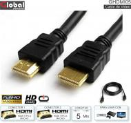 Cable HDMI M - HDMI M 05.0M GLOBAL GHDMI05