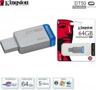 Mem USB 3.0 064 Gb KINGSTON DT50