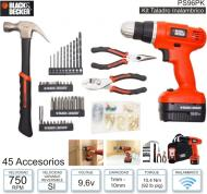 Kit Taladro BLACK & DECKER PS96PK (Inalambrico)