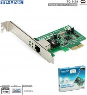 Red PCI-E TP-LINK TG-3468 Gigabit 10/100/1000