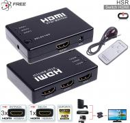 Switch KVM HDMI 03 P FREE HS3 c/Control