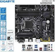 Mother INTEL 1151 8G GIGABYTE H370M D3H