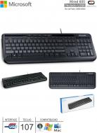 Teclado USB MICROSOFT Wired 600 ANB-00004