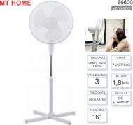 Ventilador de Pie 16p MP HOME 86600