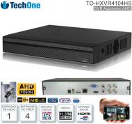 DVR 04 Can TECHONE TO-HXVR4104HS