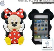 Silicona APPLE iPod 4 Mickey Mouse