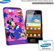 Silicona SAMSUNG i9070 Advance Mickey Mouse